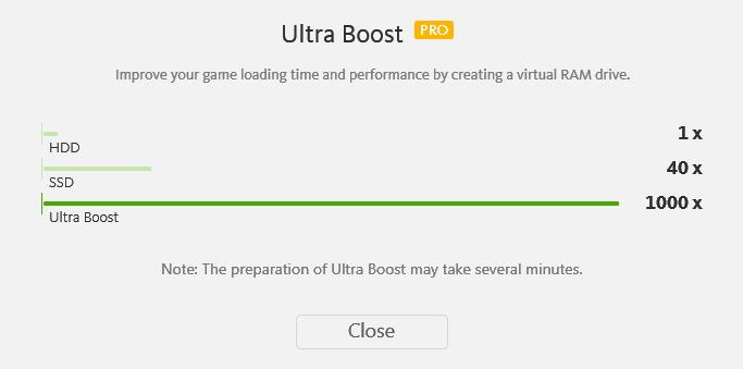 Neskromná prezentace módu Ultra Boost naznačuje, že výkon počítače zvýší tisíckrát :)