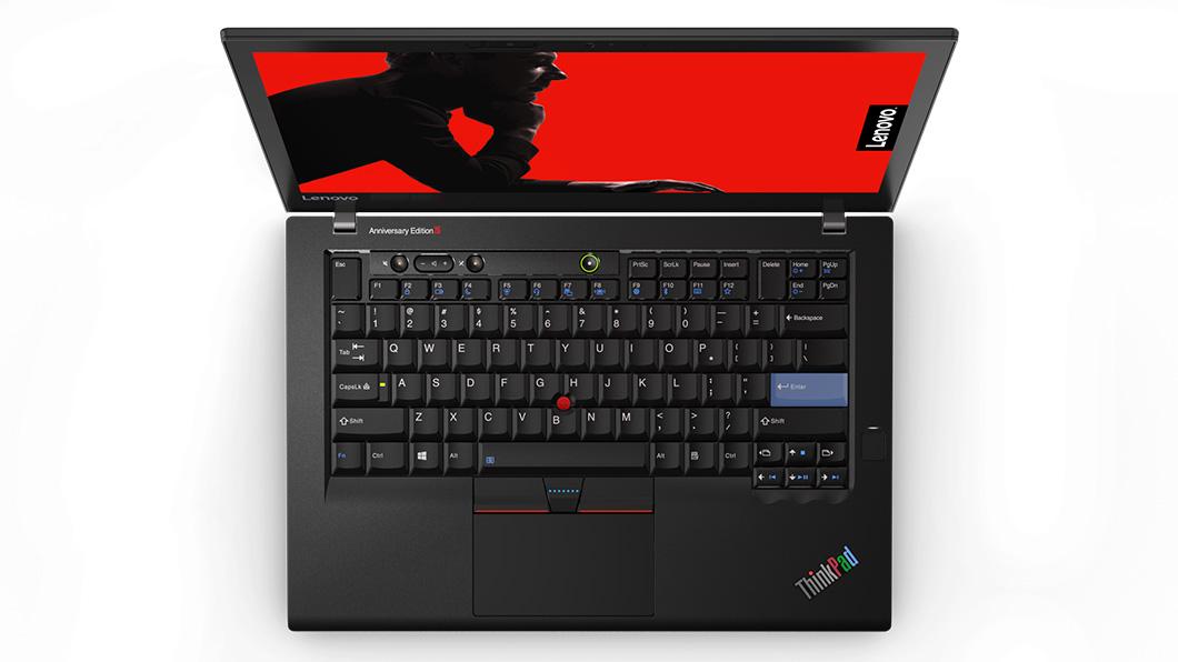 ThinkPad 25 Anniversary Edition a jeho hlavní přednost: sedmiřadá klávesnice
