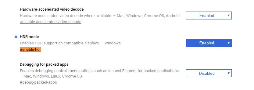HDR podporuje už i Chrome - stačí ho povolit