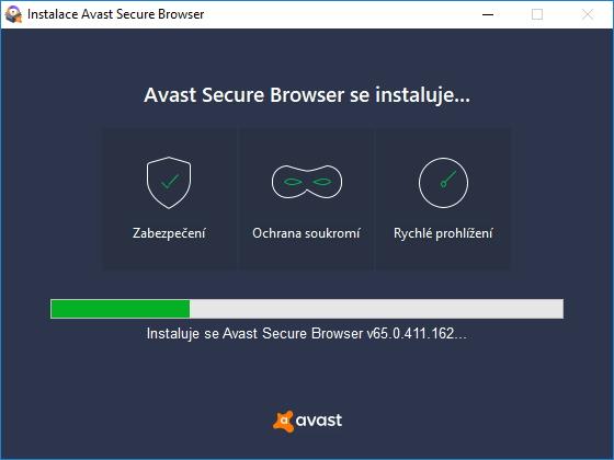 Avast Secure Browser si zakládá na zabezpečení, ochraně soukromí a rychlosti