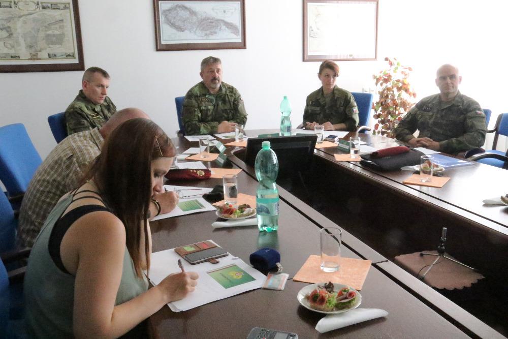 Zástupci Generálního štábu AČR oznámili plán vzniku Velitelství kybernetických informačních operací (Zdroj: Army.cz)