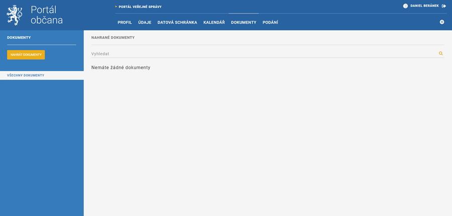 Dokumenty jsou úložištěm, které by do 500 MB mělo plně alternovat Datový trezor České pošty