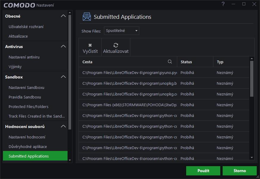 Comodo potichu testuje reputaci některých aplikací v systému
