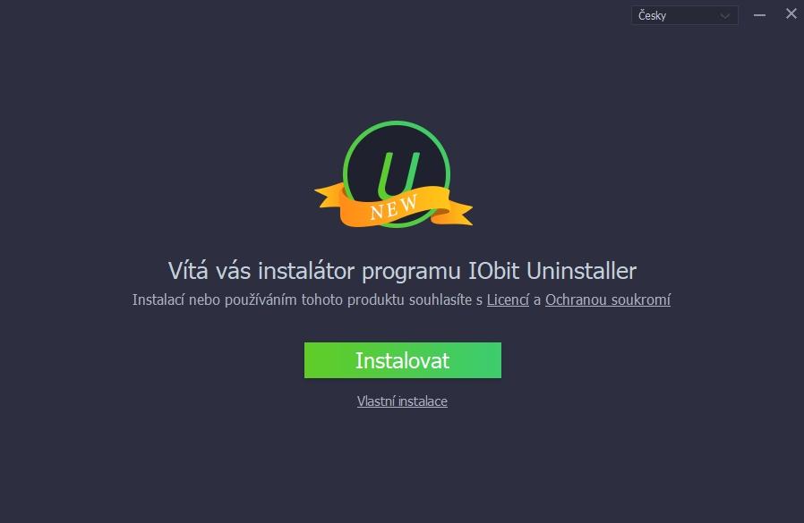 Češtinou IObit Uninstaller 8 nejen přivítá, ale i provází