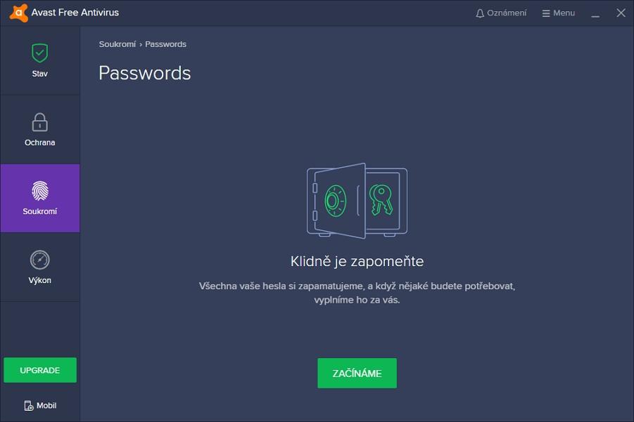 Avast Passwords: klíčenka na hesla v podání Avastu