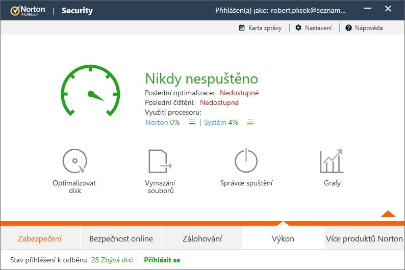 Oblast Výkon je víceméně zbytečná: její nástroje nepředčí ani systémové nástroje Windows