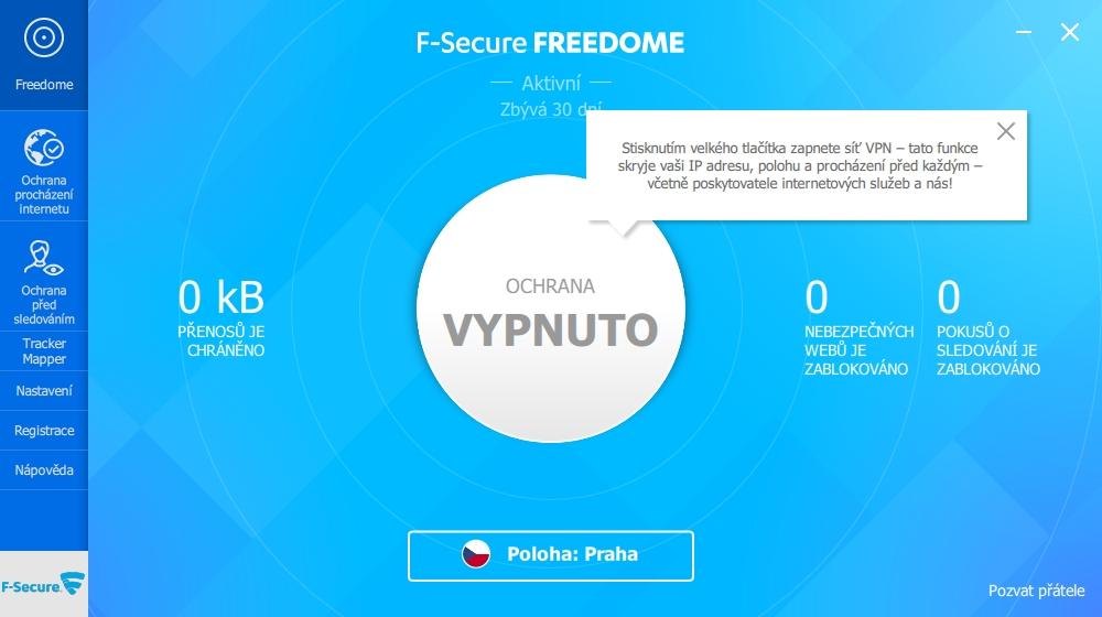 F-Freedom už má lehce novější design - jednoduchost technického designu ovšem zůstává zachována i zde