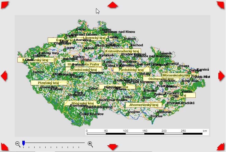 Staré dobré Mapy.cz zbavené všeho technologické balastu (Zdroj: StaréDobré.Mapy.cz)