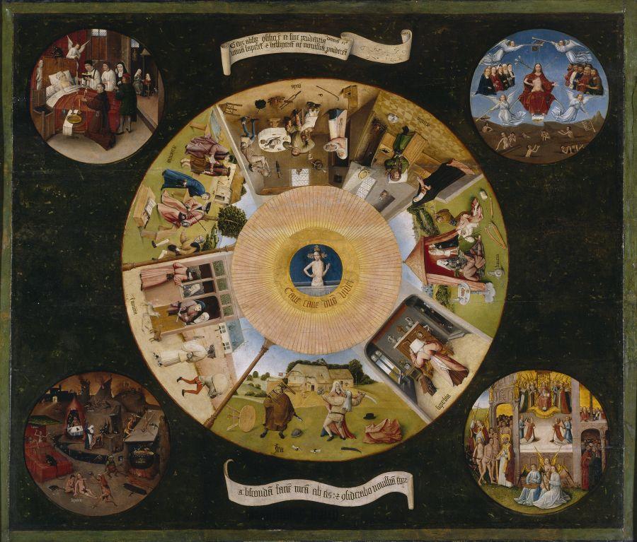 Sedmi smrtelnými hříchy se zabýval už bezuchý Hynek Boschů (Zdroj: Wikipedia.com)