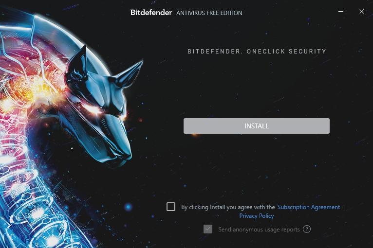 Hadopejsek Bitdefenderu se chystá nainstalovat Antivirus Free