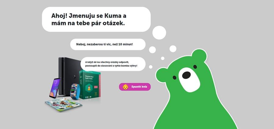 Medvídek je nevýrazný, nevtíravý a nabízí spoustu hraček - ideální parťák pro dítě - teda až to jméno Midori Kuma (Zdroj: Zelenymedved.cz)