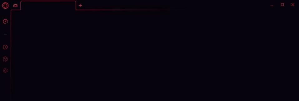 Tajuplný vizuál Opery GX, jež potěší především hráče (Zdroj: Opera.com)