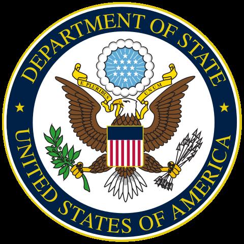Ministerstvo zahraničních věcí USA se práce nebojí :) (Zdroj: Wikipedia.org)