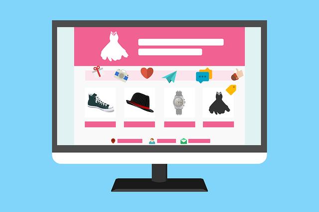 Weby eshopů jsou oblíbeným vektorem kyberútoků: mají mnoho návštěvníků, kteří navíc na nich zadávají citlivé údaje (Zdroj: Pixabay.com)