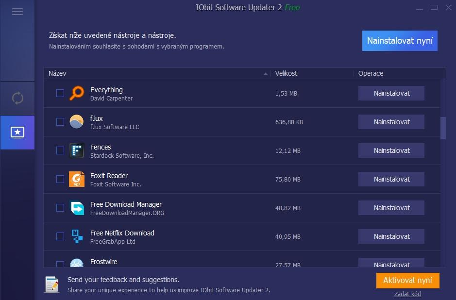 Aplikační obchod umožní uživateli dovybavit systém rozličných kousky softwaru