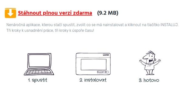 Malý, snadno dostupný a aplikovatelný - to je Instalátor Instaluj.cz