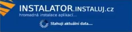 Startovací logo Instalátoru Instaluj.cz