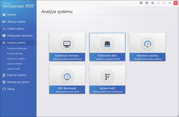 Základní prvky analýzy systému
