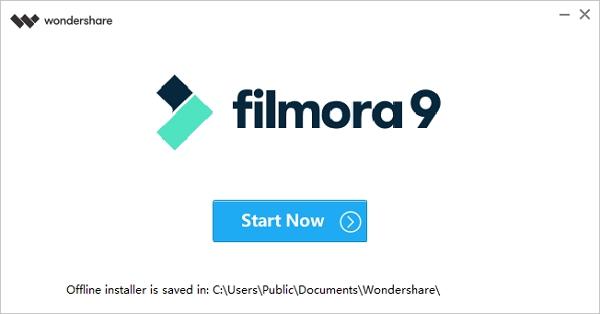 Wondershare Filmora: instalátor je minimalistický - odloží si offline data na Céčko a už je tam nechá:)