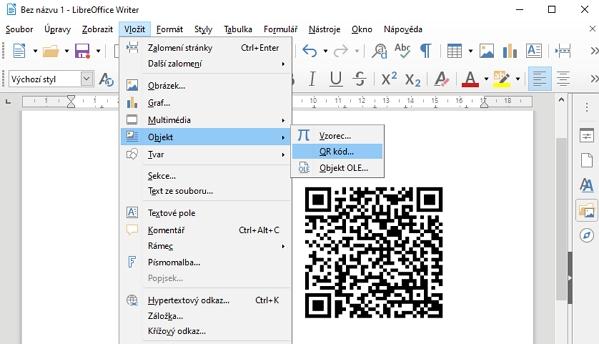 Každý z editorů umí generovat QR na míru požadavku s korekcí chyb a s požadovanou šířkou okraje QR