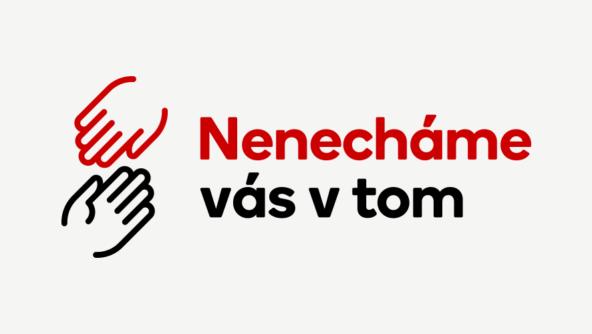 Podané ruce Seznamu dostaly podobu ucelené kampaně Nenecháme vás v tom (Zdroje: Blog Seznam.cz)