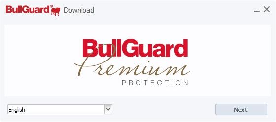 BullGuard je jen v angličtině - a dává znát už od začátku