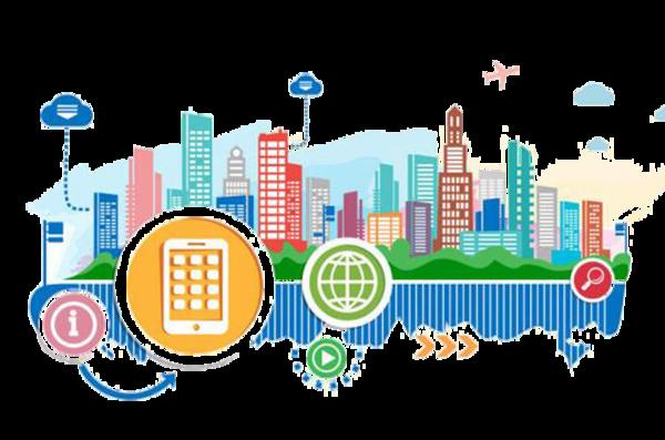 Smart City to nejsou jen technologie fungování města, ale i způsoby rozhodování o něm (Zdroj: PNGWing.com)