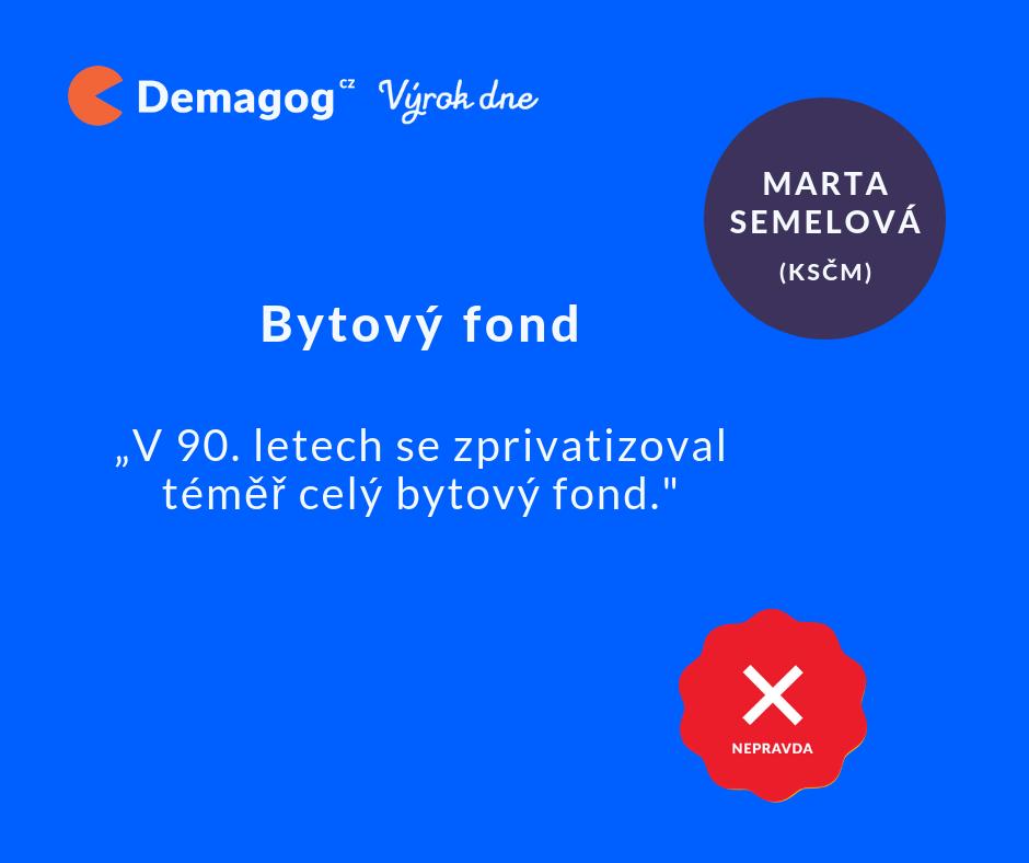 Téměř - to je ale ošemetné slovíčko - někdy totiž téměř celý znamená 39 % (Zdroj: Demagog.cz)