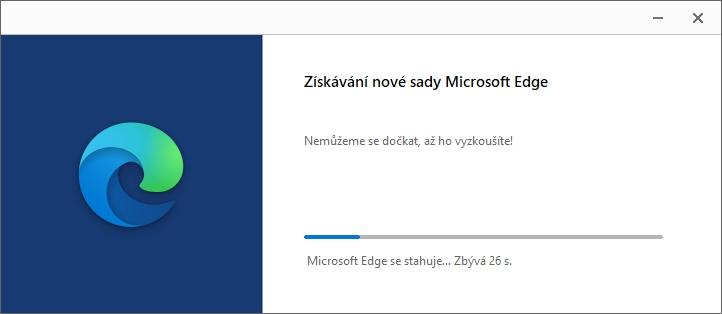 Už instalační hlášky napoví, že nejde o uživatelsky modifikovatelnou instalaci