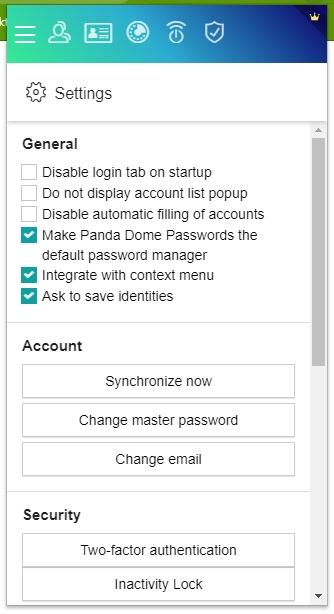 Rozšíření Password Manager pro Google Chrome