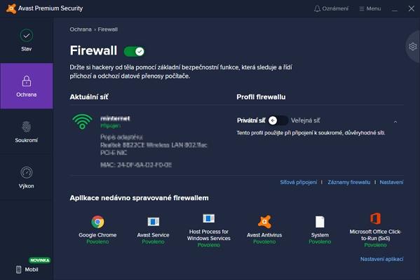 I firewall může vypadat přívětivě