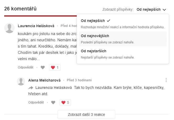 Diskuze na Proženy.cz v novém hávu (Zdroj: Prozeny.cz)