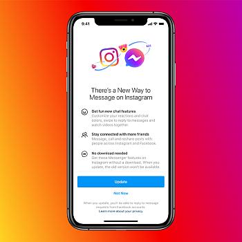 Instagram upozorní na změny přímo v aplikaci (Zdroj: about.fb.com)