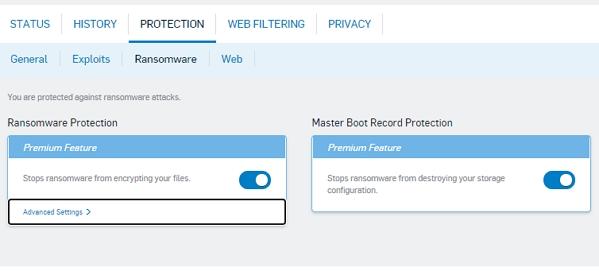 Anti-ransomware umí ochrání i Master Boot Record pevného disku