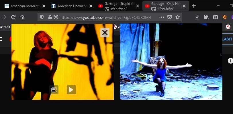 Vícenásobný obraz v obraze v podání Firefoxu (Zdroj: Mozilla Firefox)