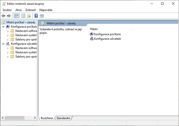 Jak spustit Editor místních zásad skupiny? (Zdroj: Windows)