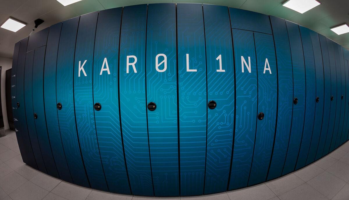 Ostravská Karolina je 70. na světě (Zdroj: IT4Innovations)