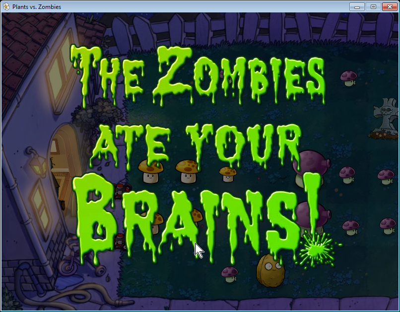 Zombies ate your brains