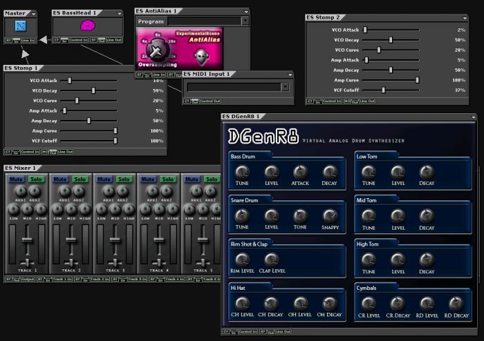 Snadná tvorba elektronické hudby - DarkWave Studio