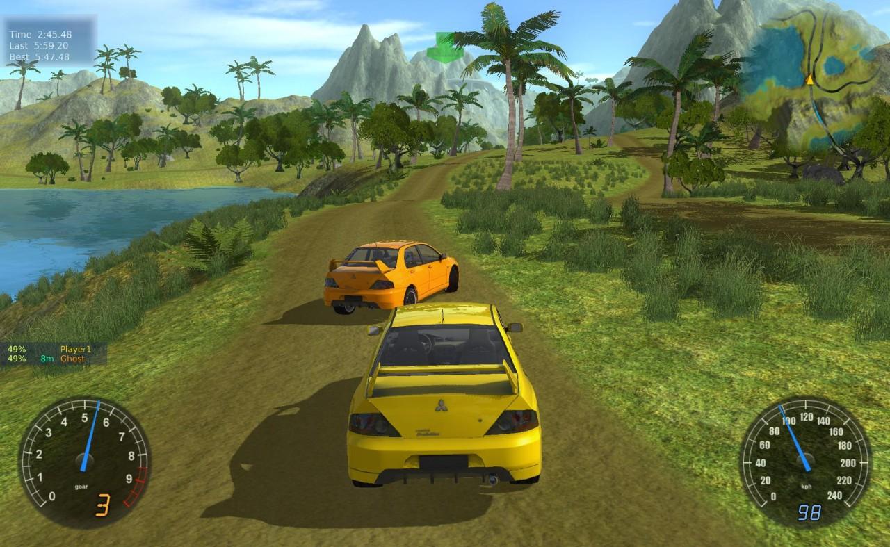 Stunt Rally - dokonalá závodní hra
