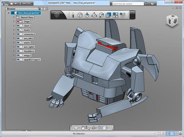 Autodesk 123D pro snadné 3D modely