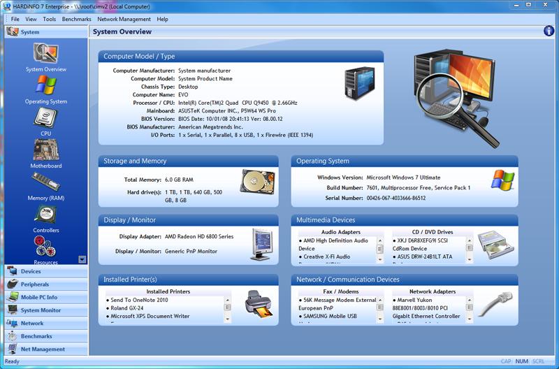 Zjistěte od svého PC všechny informace