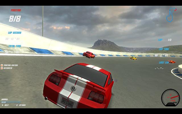 X Speed Race - máte rádi rychlá auta?