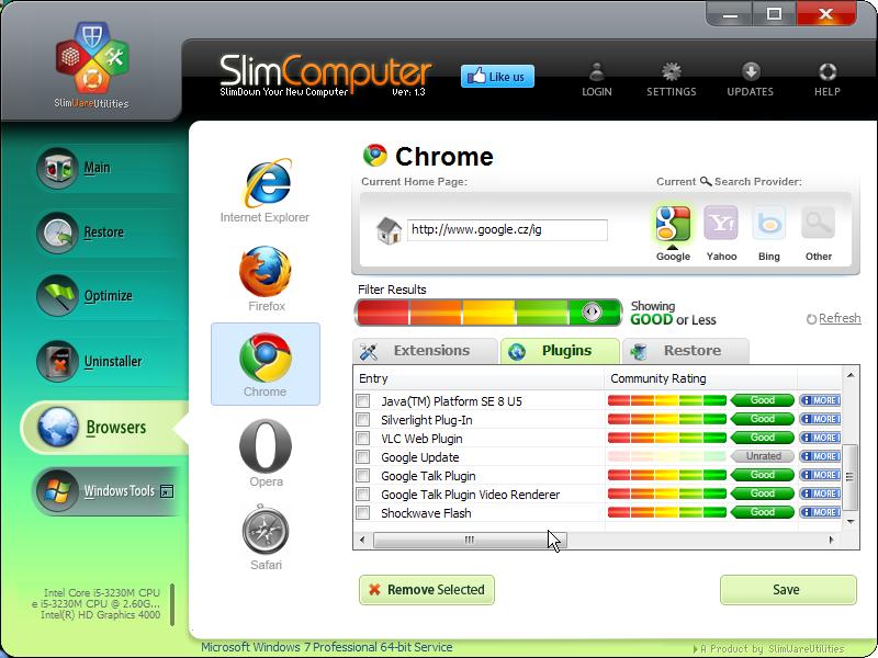 Prohlížeče: rozšíření a pluginy