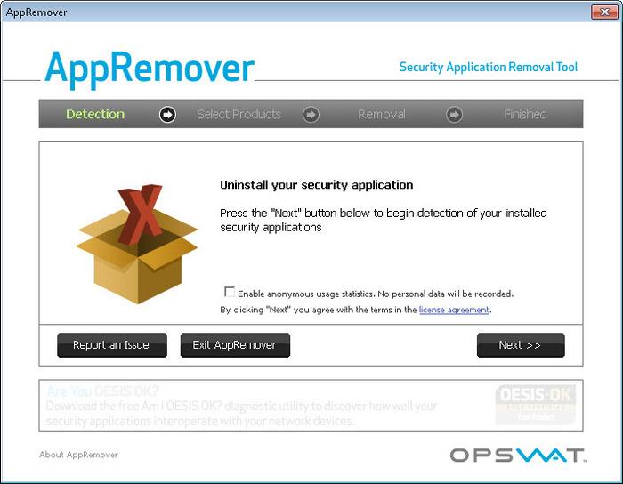 AppRemover - bezpečné odinstalování aplikac