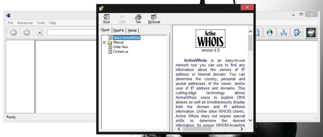 Active WHOIS, získejte důležité informace o doméně