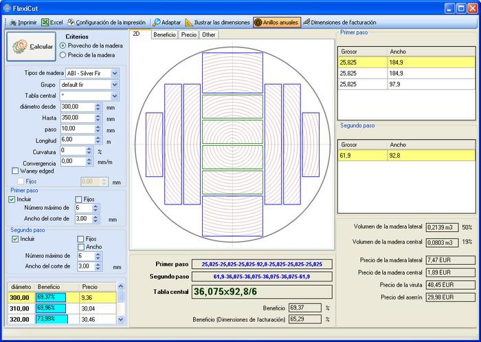 CutLog - optimalizace pořezového schématu