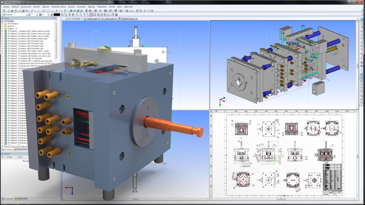T-Flex CAD - potřebujete tvořit 3D modely?