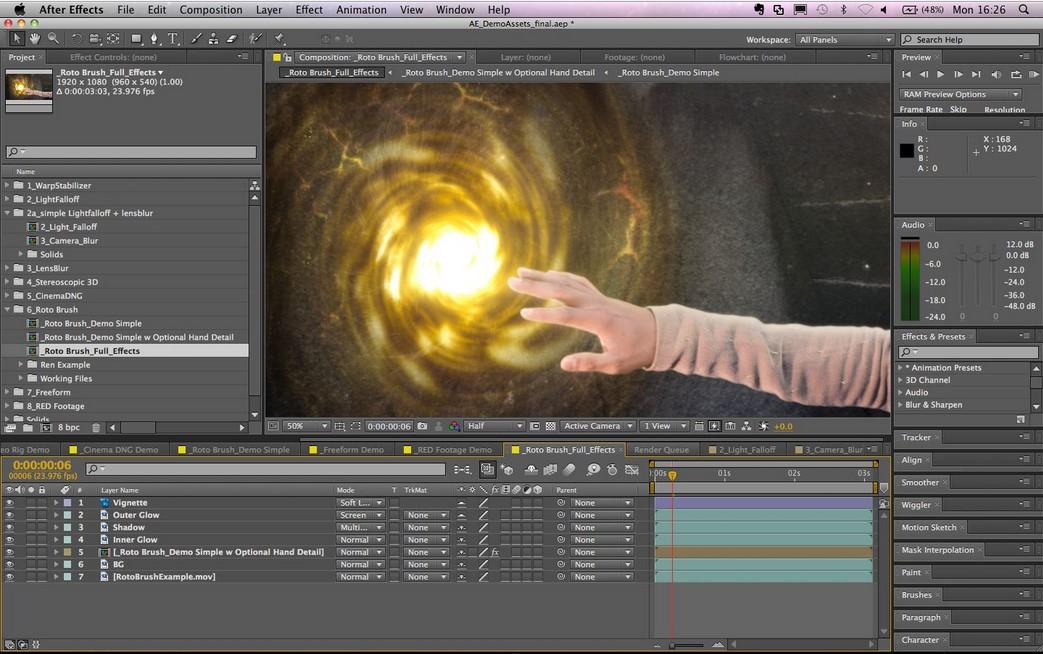 Adobe After Effects, profesionální nástroj s pokročilými vizuálními efekty nejen pro filmy