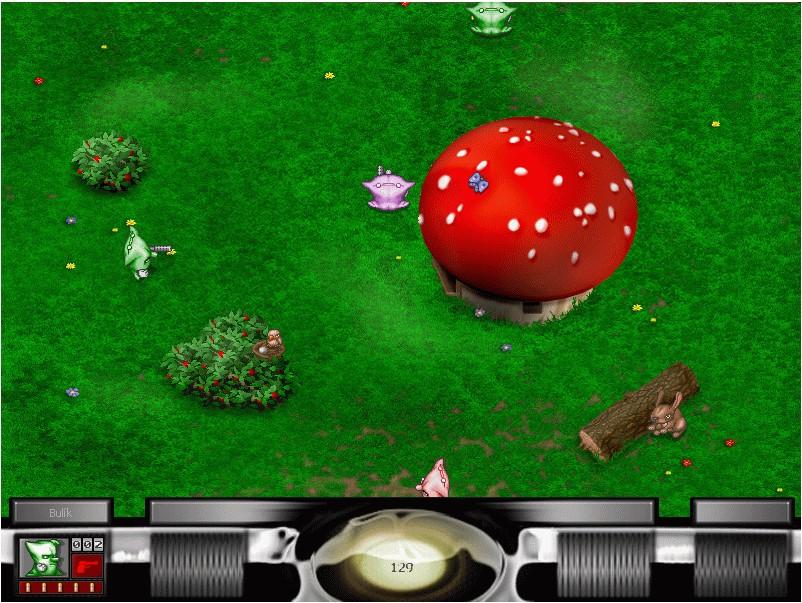 Bulánci, legendární akční hra s dravými polštářky